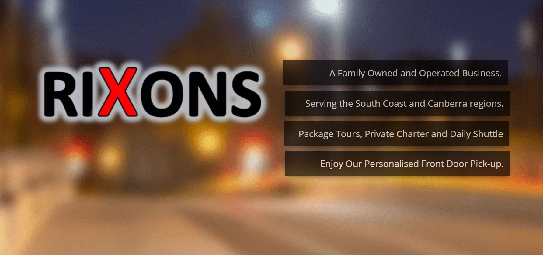 Canberra to South Coast Shuttle, Package Tours, Private Bus